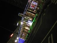 福生駅のイルミネーション