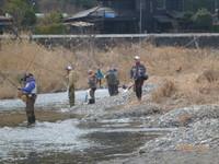 秋川渓流釣り