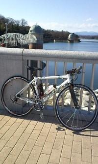 多摩湖自転車道!