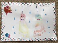 9/7(木)水性チョーク「キットパス」で手形足形スタンプアートを作ろう aonaイベント