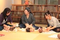 5/8(月) ママと赤ちゃんが笑顔になれる☆ ベビーマッサージ aonaイベント