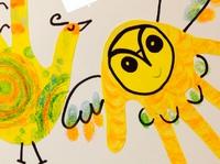9/22(金)手形アートで遊ぼう☆スタンプペインティング aonaイベント 2017/07/12 09:50:38