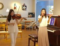 6月10日(土)  Saki&Maki ピアノとヴァイオリンの親子コンサート13 aonaイベント