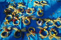 正月用しめ縄飾り作り