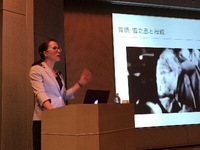 第10回調布市民映画塾「赤西蠣太」上映とハウカンプ先生の講演