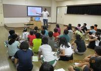 小学校ゲストティーチャー第2弾 ケニヤの留学生が第2小で教壇に!