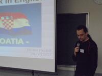 「Let's talk in English~Croatia~」開催しました。