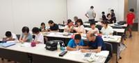 子ども日本語教室 夏休み特別教室を開催しました。