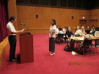 日本語ボランティア入門講座 修了式