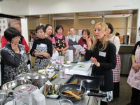 交流サロン「トルコ料理で国際交流」開催しました