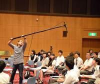 映画撮影等技術講習会写真