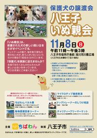保護犬の譲渡会 2015/10/14 20:45:41