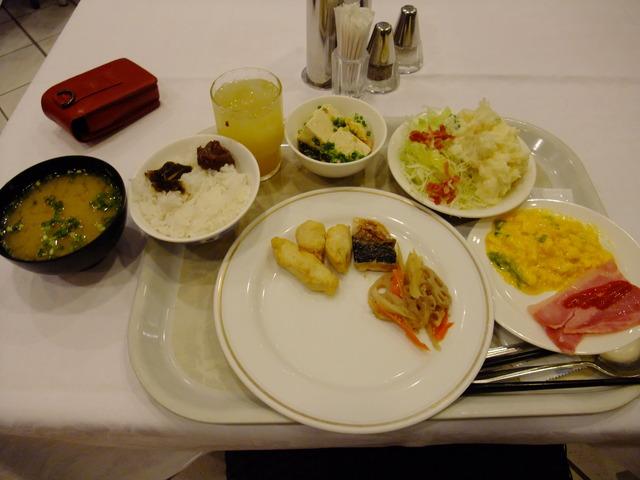 2013沖縄旅行2日目朝食