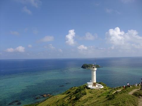 2013沖縄旅行、平久保崎灯台