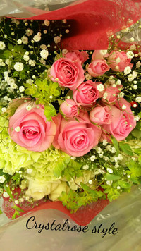 お祝いのお花束