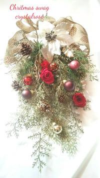 クリスマススワッグレッスンも開始します