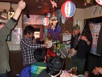 昨日はしまあかりで3周年パーティー&三線ライブでした