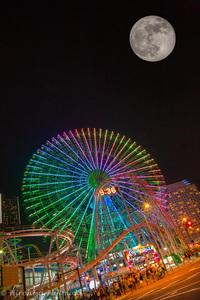 満月の夜。。。