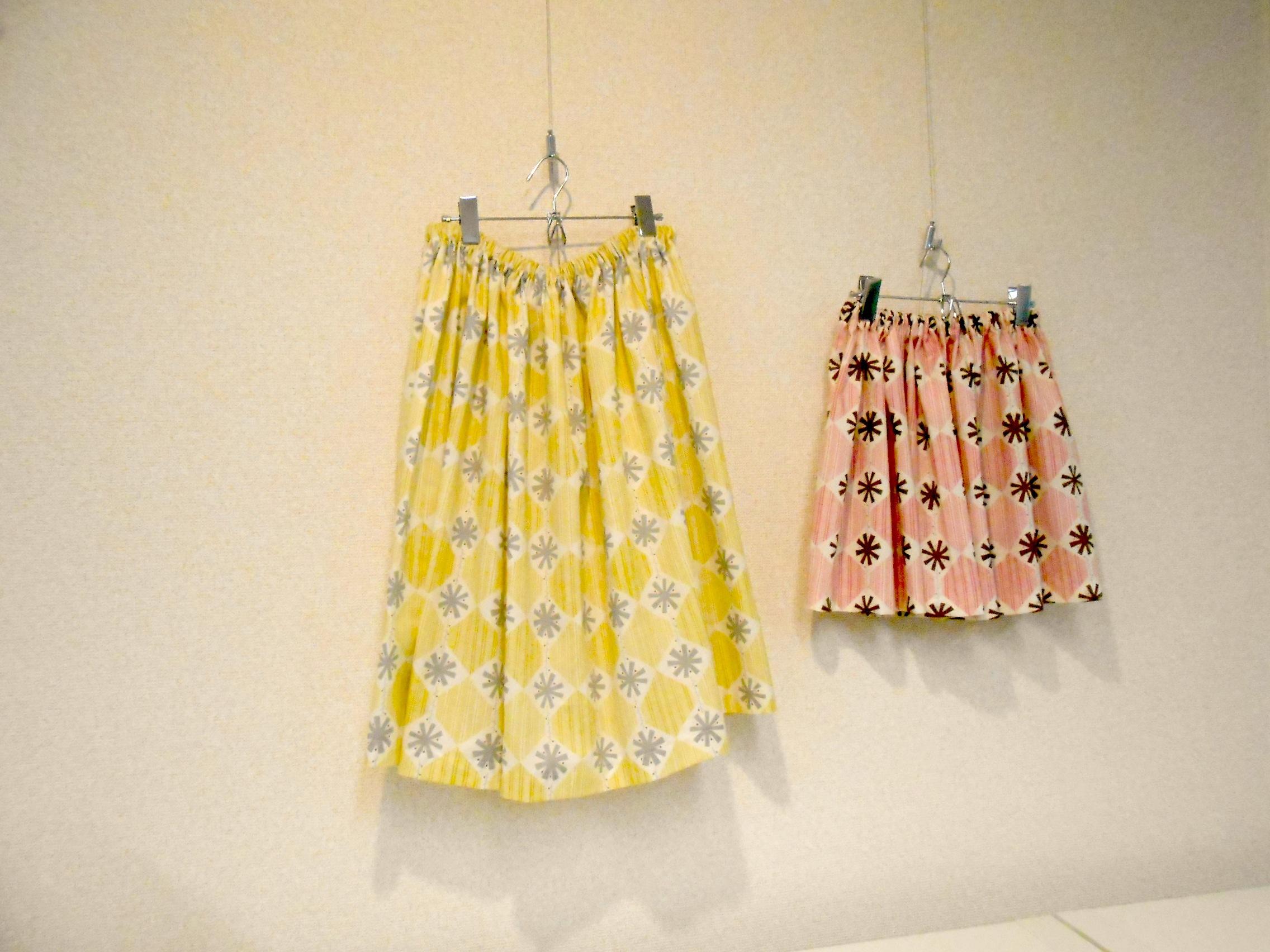 夏休みスカート