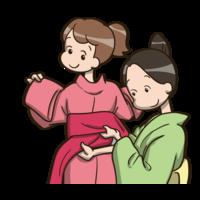 花火大会シーズン☆浴衣の着付けコーナー