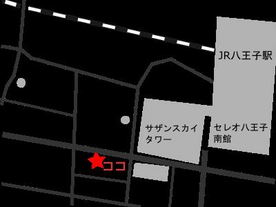 アトリエシャトン地図