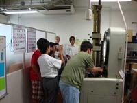 城山中学の中学生が東京高専の研究室を取材するの巻