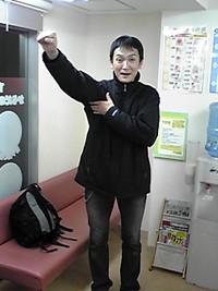 H先生と練習!!