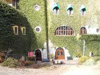 ジブリ美術館カフェで食事>料理と建物外観は撮れます。
