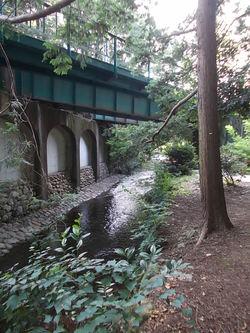 京王井の頭線鉄橋