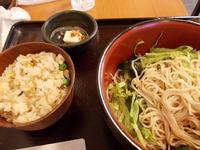 【冷やしたぬき】セット>藪の大作・武蔵境で年越し蕎麦