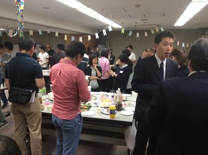 大学関係者、学生も居て盛会