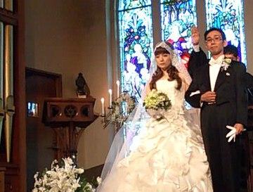 神の前で結婚宣誓