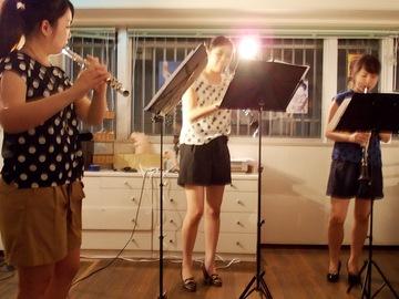 北海道から来た女性演奏家