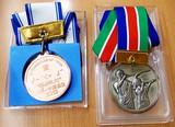 メダルの数々