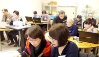 多摩市でシニアの「情報発信講座」しました。