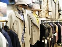 76歳からの春のコート・八王子高齢者(シニア)洋服・肌着専門店・東京・おばあちゃん・年寄り・母親・80代・90・下着