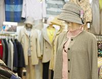 高齢女性の体形に合わせた型紙を使用したジャケットブラウス 東京都八王子市シニア洋服・下着専門店 2018/04/02 10:30:14