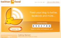 ブログの記事をTwitter(ツイッター)へ自動投稿する方法 2012/09/02 16:22:00