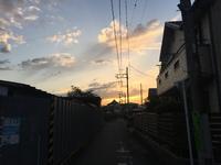 4月27の夕刻風景♪