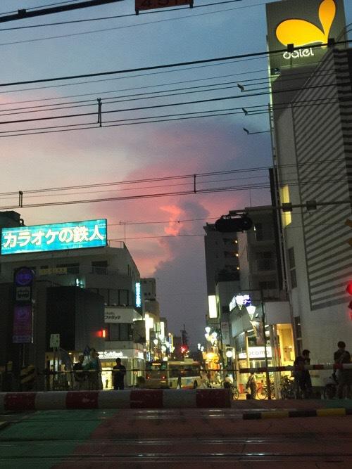 07.16、西八王子の夕焼け