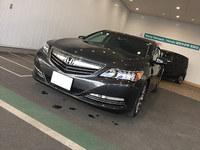 ホンダレジェンドに北海道からシートのご注文。