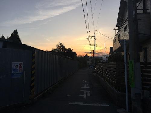 夕焼け04/29
