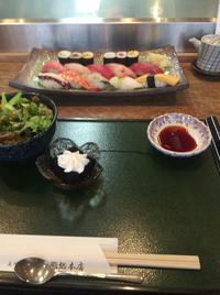 立川ランチ、お寿司( ´∀`)