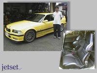 懐かしい投稿記事・BMW-M3へレカロ装着でした。