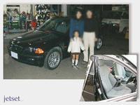 懐かしいお客様の写真再掲:3シリーズ(BMW)にレカロシートの装着でした
