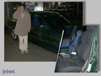 懐かしいお客様写真再掲E36アルピナ(:BMW)にレカロシートの装着でした。