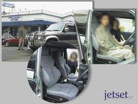 懐かしいお客様写真再掲:パジェロ(MITSUBISHI)にレカロシートの装着でした。