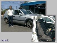 懐かしいお客様登場:VW:ゴルフにレカロ装着。1999年02月の事でした。
