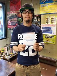 【八王子Match Vox/RIPS】奥 泰正さん 2016/08/22 07:00:00