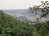 青梅丘陵を歩く